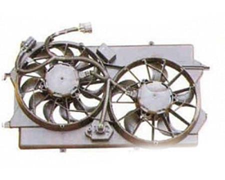 Comprar difusor de radiador, ventilador de refrigeración, condensador del aire acondicionado, completo con motor y