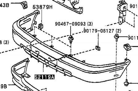 Comprar parachoques delantero para Toyota Corolla 1997