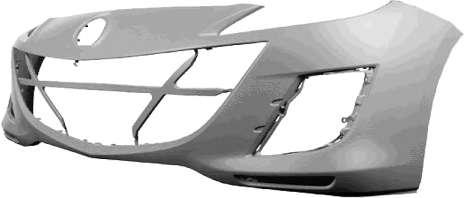 Parachoques delantero para Mazda 3 2011 año