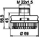 Deshumificador De Sistema Neumatico para Mercedes Antos ()