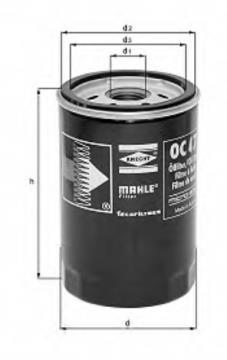 Filtro de aceite para Renault Trucks K 2014