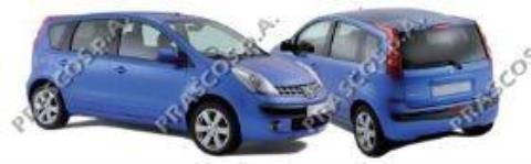 Precios para parachoques delantero para Nissan Note 2008