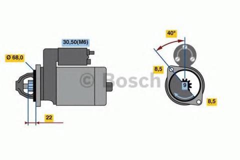 Motor de arranque para Saturn Astra 2013